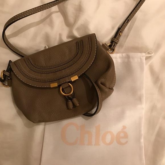 ca428dad70 Chloe Handbags - Chloe Marcie pouchette crossbody bag